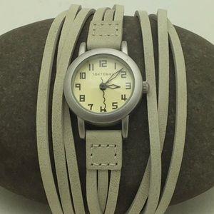 NWT TOKYObay Ivory Multi-Strap Watch 1085